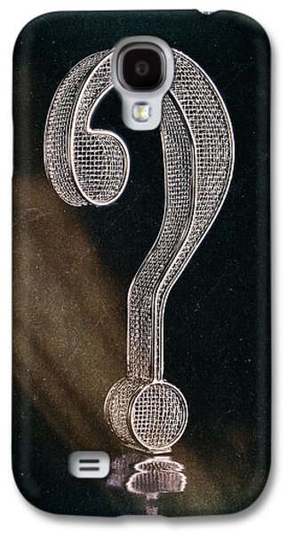 Question Mark Galaxy S4 Case by Tom Mc Nemar
