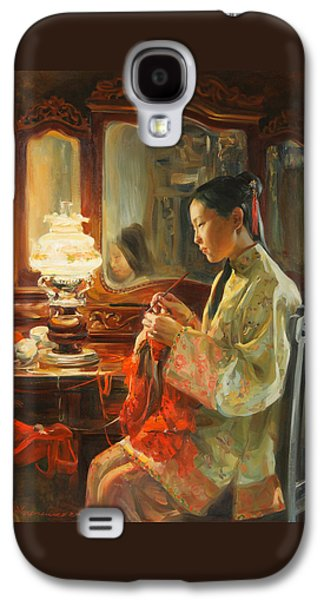 Quiet Evening Galaxy S4 Case by Victoria Kharchenko