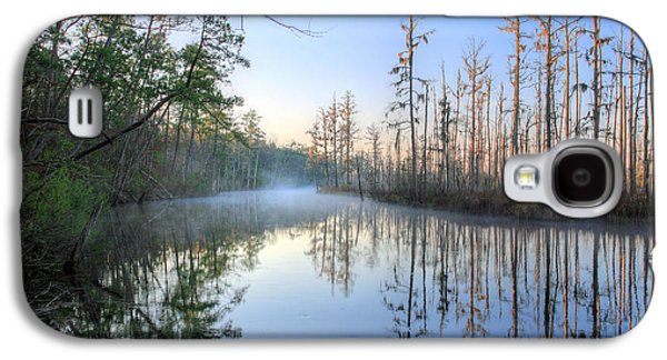 Cypress Swamp Galaxy S4 Cases - Quiet. Galaxy S4 Case by JC Findley
