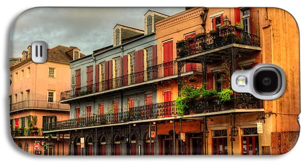 Quiet Time Photographs Galaxy S4 Cases - Quiet Time On Decatur Street Galaxy S4 Case by Chrystal Mimbs