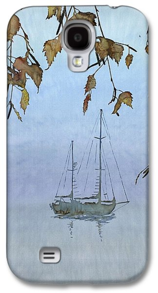Transportation Tapestries - Textiles Galaxy S4 Cases - Quiet Water Galaxy S4 Case by Carolyn Doe