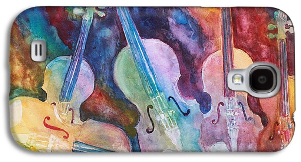 Classical Music Galaxy S4 Cases - Quintet in Color Galaxy S4 Case by Jenny Armitage