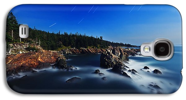 Digital Galaxy S4 Cases - Quoddy Coast by Moonlight Galaxy S4 Case by Bill Caldwell -        ABeautifulSky Photography