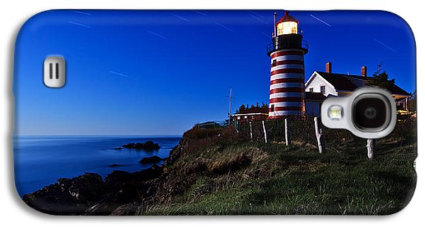 Digital Galaxy S4 Cases - Quoddy Head by Moonlight Panorama Galaxy S4 Case by Bill Caldwell -        ABeautifulSky Photography