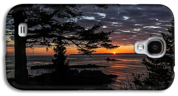 Ocean Vista Galaxy S4 Cases - Quoddy Sunrise Galaxy S4 Case by Marty Saccone