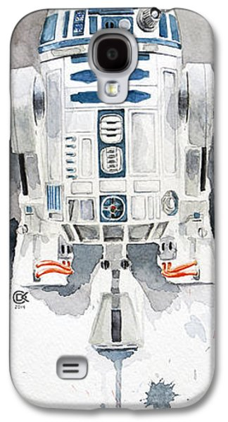 War Paintings Galaxy S4 Cases - R2 Galaxy S4 Case by David Kraig