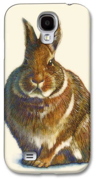 Rabbit Galaxy S4 Case by Catherine Noel