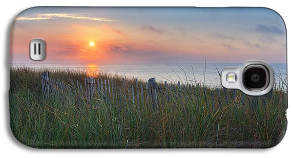 Seashore Galaxy S4 Cases - Race Point Sunset Galaxy S4 Case by Bill  Wakeley