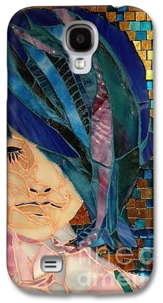 People Glass Galaxy S4 Cases - Rachel Galaxy S4 Case by Beverly Thomas Jenkins