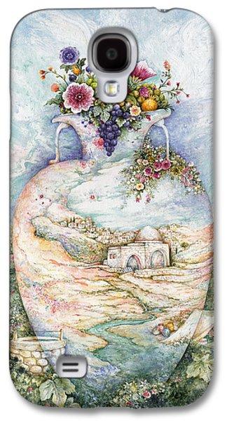 Ancient Galaxy S4 Cases - Rachels Jug Galaxy S4 Case by Michoel Muchnik