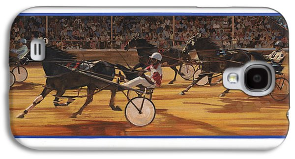 Racing Pacers And Carts Galaxy S4 Case by Don  Langeneckert