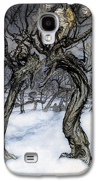 Secret Whispers Photographs Galaxy S4 Cases - Rackham: Whisper Trees Galaxy S4 Case by Granger