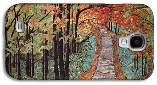 Autumn Landscape Tapestries - Textiles Galaxy S4 Cases - Radiant Beauty Galaxy S4 Case by Anita Jacques