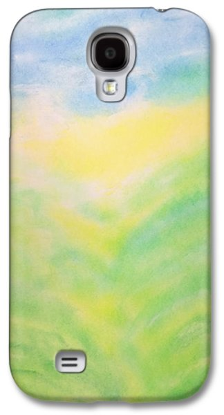 Dreamscape Pastels Galaxy S4 Cases - Radiant Nature Galaxy S4 Case by Joel Rudin
