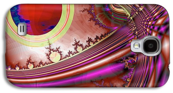 Dreamscape Galaxy S4 Cases - Radiant Orchid Galaxy S4 Case by Wendy J St Christopher