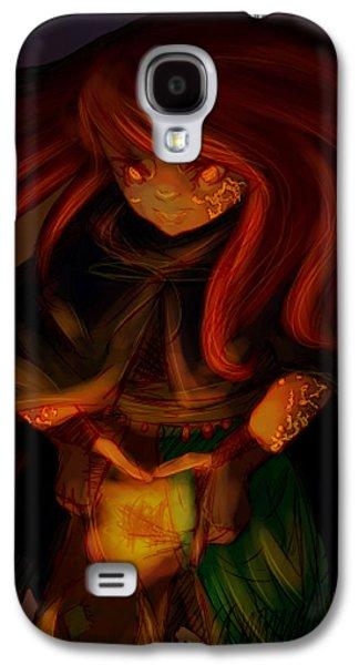 Manley Galaxy S4 Cases - Radiating Light - Original Artwork by Amy Manley  Galaxy S4 Case by Gina Lee Manley