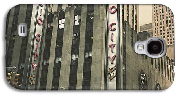 Original Photographs Galaxy S4 Cases - Radio City Hall Galaxy S4 Case by Andrew Paranavitana