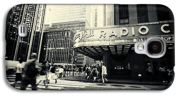 Landmarks Photographs Galaxy S4 Cases - Radio City Music Hall Manhattan New York City Galaxy S4 Case by Sabine Jacobs