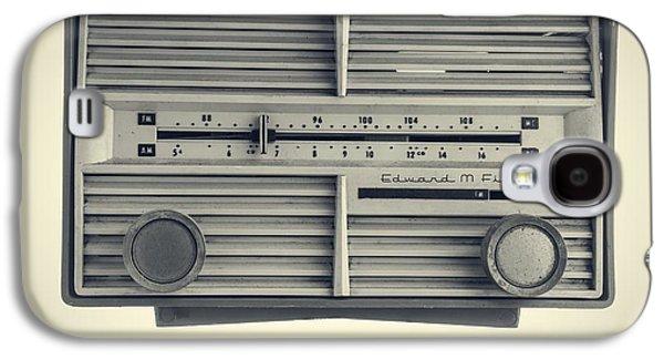 Plastic Galaxy S4 Cases - Radio Days Galaxy S4 Case by Edward Fielding