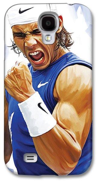 Rafael Nadal Artwork Galaxy S4 Case by Sheraz A