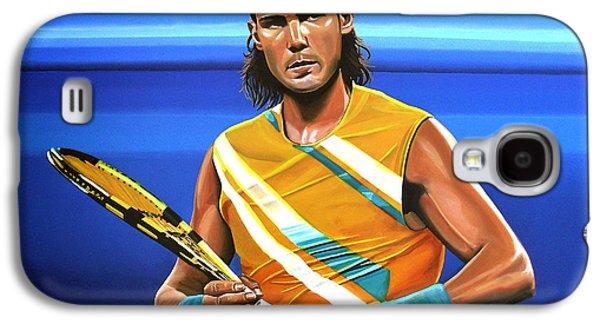 Atp Galaxy S4 Cases - Rafael Nadal Galaxy S4 Case by Paul  Meijering