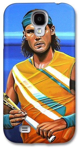 Rafael Nadal Galaxy S4 Case by Paul Meijering