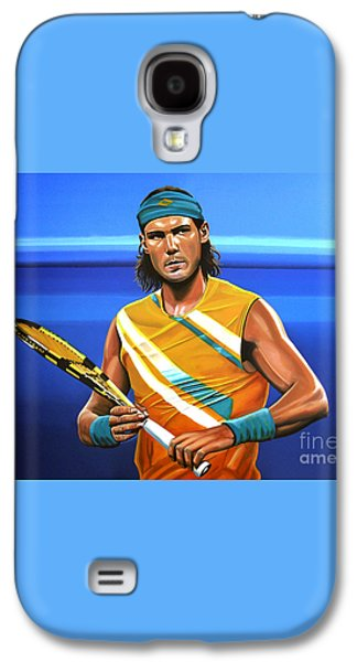 Rafael Nadal Galaxy S4 Case by Paul Meijering