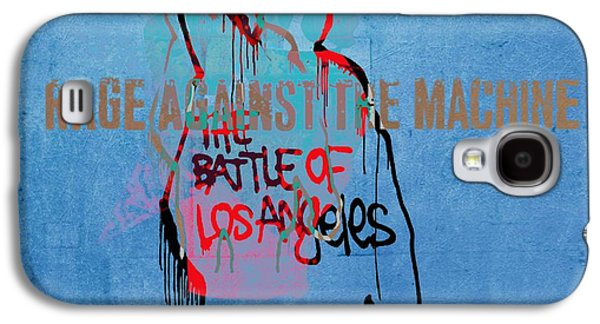 Activists Galaxy S4 Cases - Rage Against The Machine Galaxy S4 Case by Dan Sproul