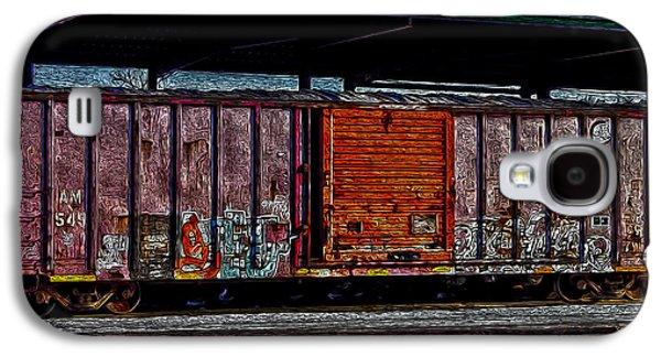 R. Mclellan Photography Galaxy S4 Cases - Rail Car Art Galaxy S4 Case by R McLellan