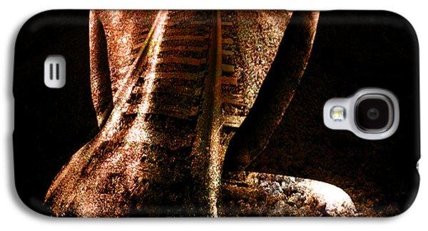 Photo Manipulation Mixed Media Galaxy S4 Cases - Railway Skin Galaxy S4 Case by Marian Voicu