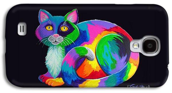 Rainbow Calico Galaxy S4 Case by Nick Gustafson