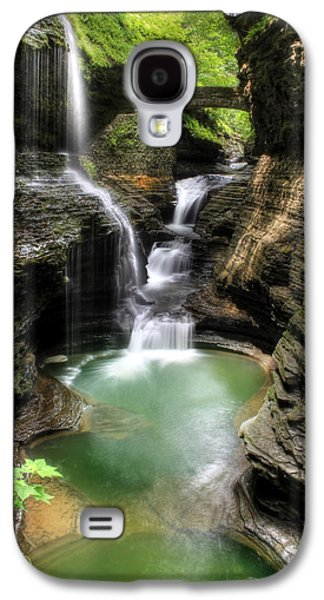 Lori Deiter Digital Art Galaxy S4 Cases - Rainbow Falls Galaxy S4 Case by Lori Deiter