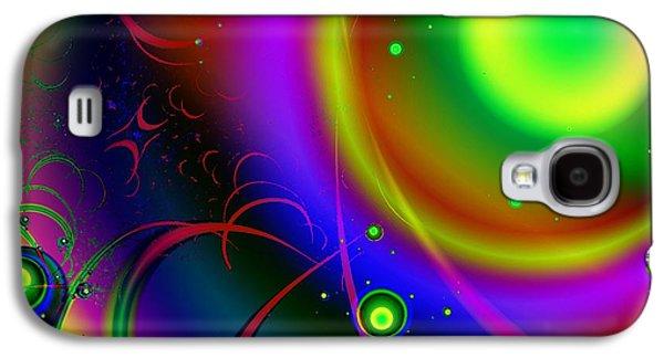 Rainbow Halo Galaxy S4 Case by Anastasiya Malakhova