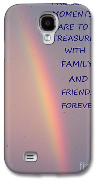 Nature Abstracts Galaxy S4 Cases - Rainbow Happiness Galaxy S4 Case by Joseph Baril