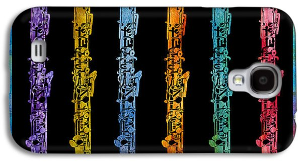 Rainbow Of Oboes Galaxy S4 Case by Jenny Armitage