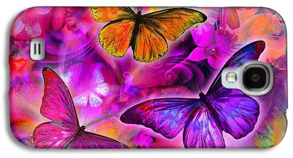 Rainbow Orchid Morpheus Galaxy S4 Case by Alixandra Mullins