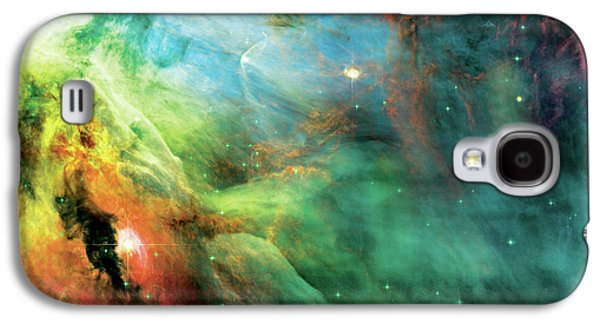 System Galaxy S4 Cases - Rainbow Orion Nebula Galaxy S4 Case by The  Vault - Jennifer Rondinelli Reilly