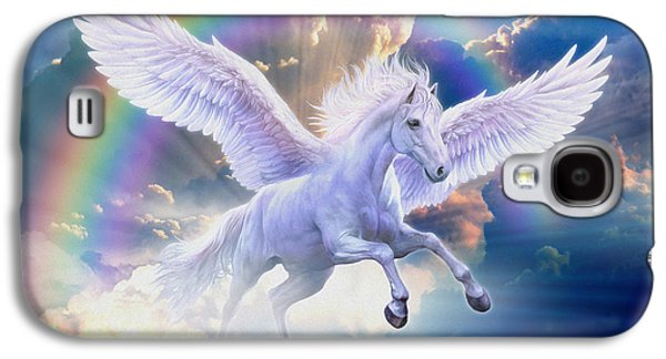 Rainbow Pegasus Galaxy S4 Case by Jan Patrik Krasny