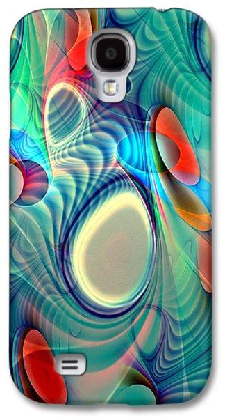 Colors Digital Galaxy S4 Cases - Rainbow Play Galaxy S4 Case by Anastasiya Malakhova