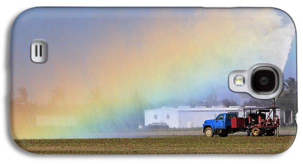 Agronomy Galaxy S4 Cases - Rainbow Galaxy S4 Case by Rudy Umans