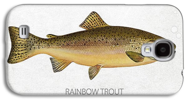 Rainbow Trout Galaxy S4 Cases - Rainbow Trout Galaxy S4 Case by Aged Pixel