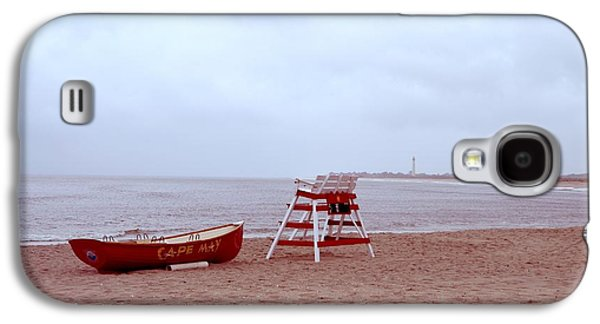 4th July Digital Galaxy S4 Cases - Rainy Day in Cape May Galaxy S4 Case by Bill Cannon