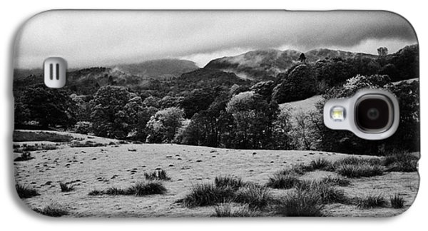 Rainy Day Photographs Galaxy S4 Cases - Rainy Day In The Lake District Near Loughrigg Cumbria England Uk Galaxy S4 Case by Joe Fox