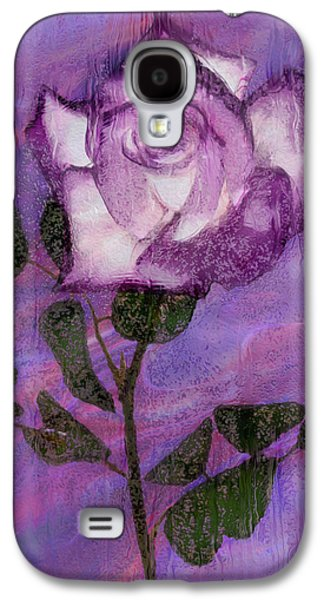 Rosaceae Galaxy S4 Cases - Rainy Day Rose Galaxy S4 Case by Jack Zulli