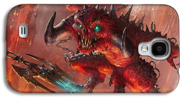Gathering Galaxy S4 Cases - Rakdos Cackler Galaxy S4 Case by Ryan Barger