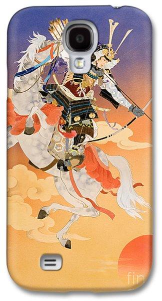 Courage Galaxy S4 Cases - Rakujitsu Galaxy S4 Case by Haruyo Morita