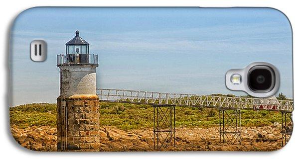 Ram Island Lighthouse Galaxy S4 Case by Karol Livote
