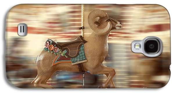 Action Photographs Galaxy S4 Cases - Ram on the Run Galaxy S4 Case by Juli Scalzi