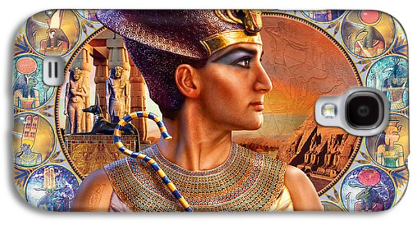 Pharaoh Galaxy S4 Cases - Rameses II Galaxy S4 Case by Andrew Farley
