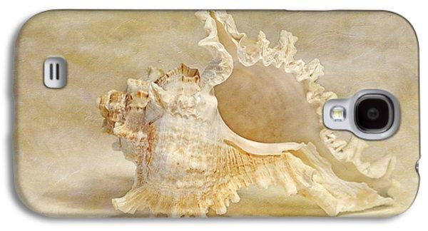 Seashell Digital Art Galaxy S4 Cases - Rams Murex Galaxy S4 Case by Cindi Ressler